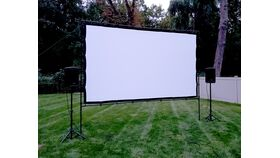 Image of a 16-Foot Rigid Movie Screen