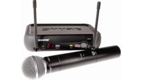 Image of a Shure Wireless Microphone Kit
