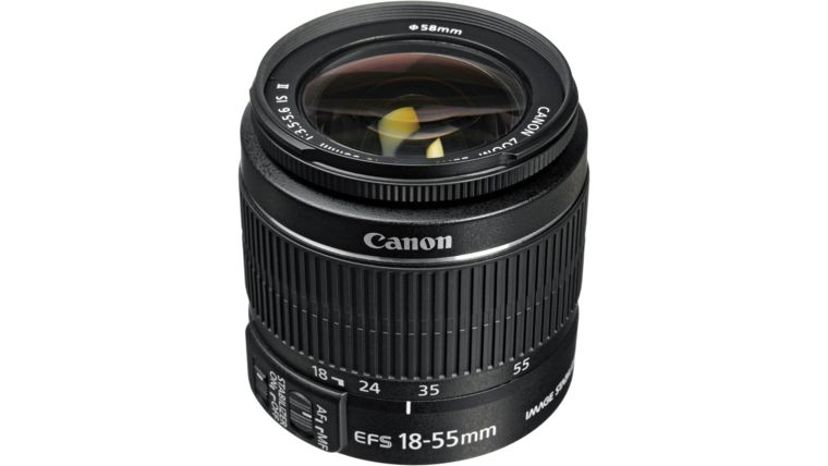 Picture of a Canon EF-S 18-55mm Lens