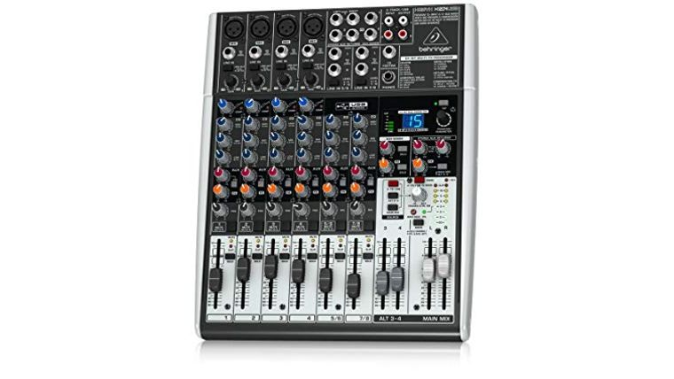 Picture of a Behringer XENYX 1202 Soundboard