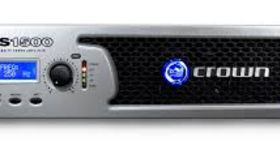 Image of a Crown XLS 1000 Watt Power Amp