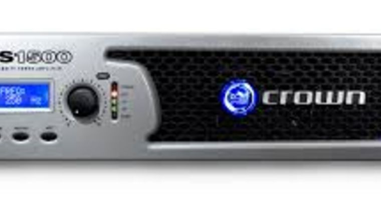 Picture of a Crown XLS 1000 Watt Power Amp