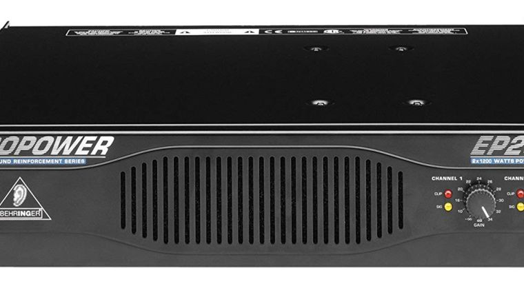 Picture of a Europower 2400 Wats Amp