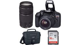 Image of a DSLR Rental Camera Kit