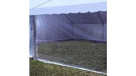 Image of a 10' X 20' Clear Sidewalls A