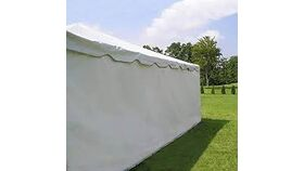 Image of a 10' X 30' Solid Sidewalls A