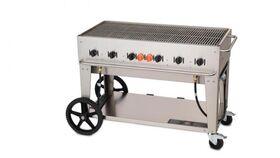 Image of a 2' W x 4' L Propane BBQ