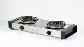 Image of a Electric Double Burner