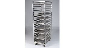 Image of a Bun Pan Rolling Rack