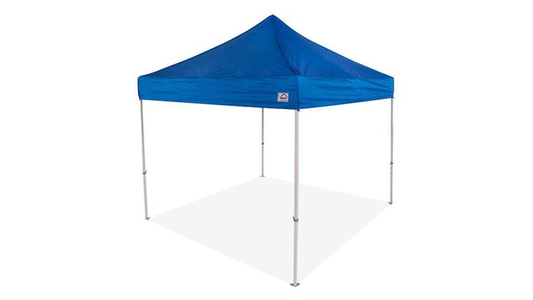 Picture of a 10' x 10' Polyester' Blue 1-Piece Tops