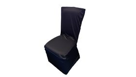 Image of a Black BCC Square Chair Cover
