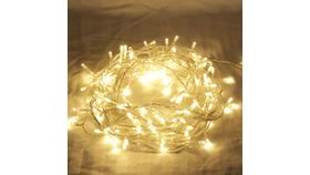 Image of a Warm White LED Twinkle Lights - 65'