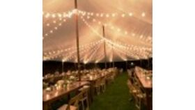 Image of a White Bistro LED Lights per foot