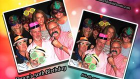 Image of a Photo Booth - Digital Solid Backdrop