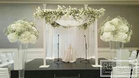 Image of a 10'ft x 10'ft White Canopy
