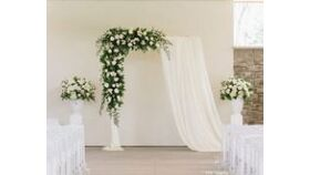 Image of a 10ft White Rectangle Archway