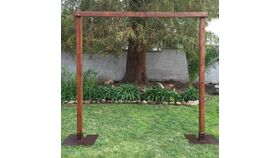 10ft Wooden Archway image