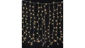 Image of a 10'ft x 10'ft Twinkle Light Curtain (warm white)