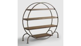 Image of a ROUND INDUSTRIAL SHELF