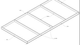 Image of a Basic Flat:  10' x 1'