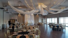 Image of a Boca Ciega Ballroom Starburst Ceiling Installation with Starlights