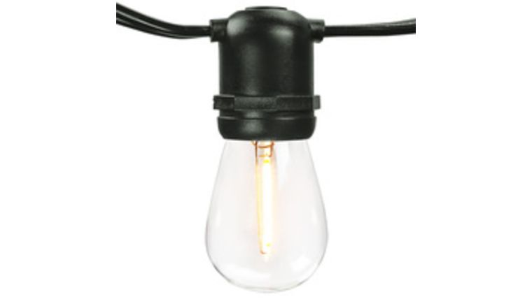 Picture of a Bistro/String Lights - Black - 100'