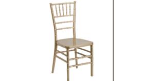 Image of a Chiavari Chair -Light Gold (Resin)