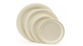 Image of a Salad Plate Ivory Dinnerware