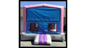 Image of a 13' x 13' Pink Module Jumper Bounce