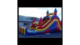 Image of a Giant Inflatable Slide