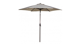 Image of a Silver Umbrellas