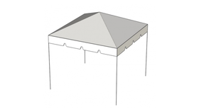 Image of a 10' x 10' Frame Tent