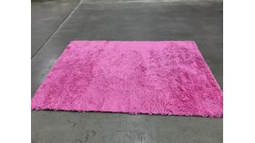 Image of a 48'x72' Shag Pink Turf & Carpet