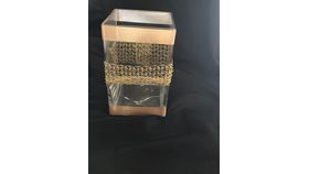 """Image of a 6""""x4"""" Square Glass Vase"""