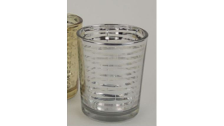 "Picture of a 2"" x 2.5"" Votive Striped"