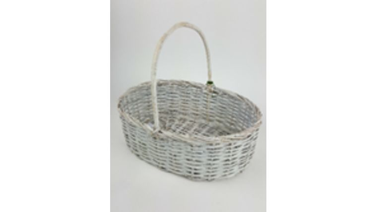 "Picture of a 11.5"" x 15.5""  Wicker Basket"