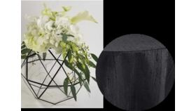 Image of a Black and White Centerpiece