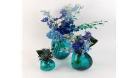 Image of a Blue Centerpiece 14 (set of 3)