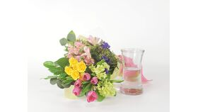 Image of a DIY Mother's Day Flowers & Vase Kit