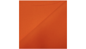 Image of a 120 Round Neon Orange Tablecloth