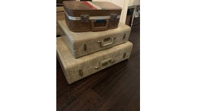 Image of a Large Vintage Suitcase