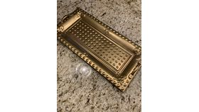 Image of a Tray - Gold
