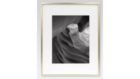 Image of a Frame - 12 X 16 Gold