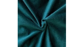 Image of a 132 Hunter Green Velvet