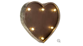 Image of a Heart Marquee