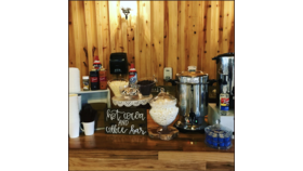 Image of a Coffee and Cocoa Bar Service
