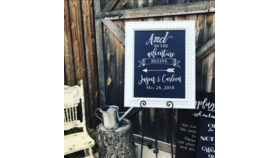 Image of a Chalkboard - White