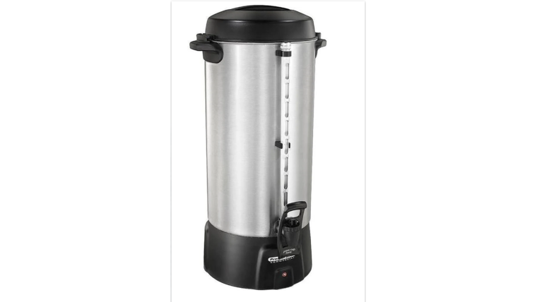 Picture of a 100 Cup Coffee Maker