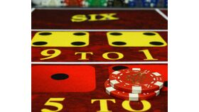 Image of a Virtual Craps Table