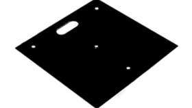 "Image of a 18"" Baseplates"